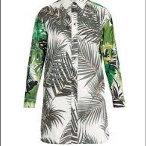 Max Mara-Diego printed cotton poplin shirt